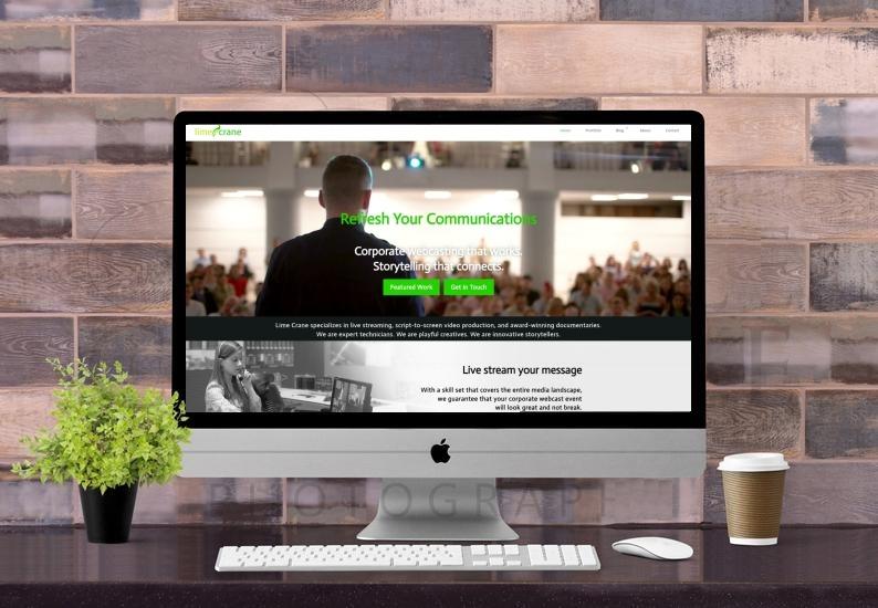 Website: Lime Crane Video