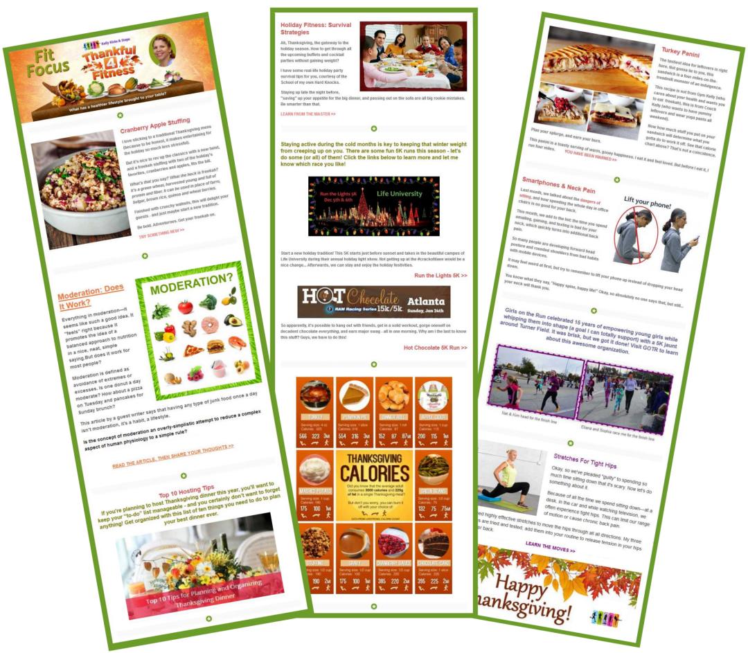 Fit Focus November newsletter