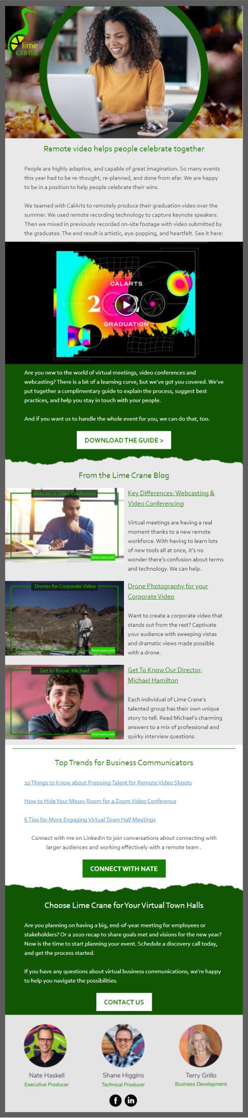 Lime Crane October 2020