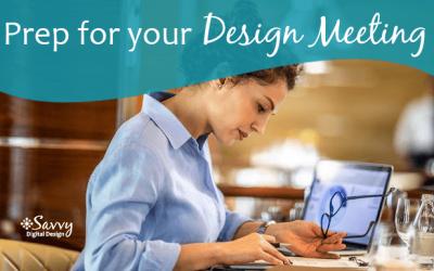 Prepare for Your Website Design Meeting